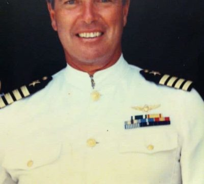 A portrait of Elizabeth's father, Captain Russell S. Penniman.